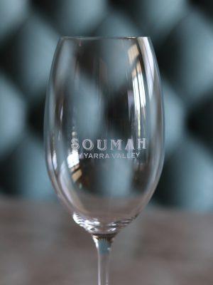 Soumah Wine Glass, close-up